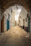Carril de Kairouan fotos de archivo libres de regalías