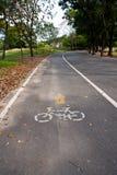 Carril de la bici imagenes de archivo