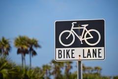 Carril de la bici imagen de archivo