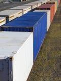 carril de la carga Foto de archivo libre de regalías