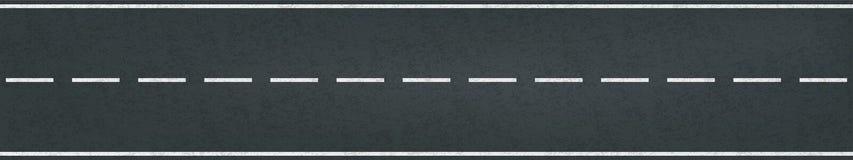 Carril de la marca del tráfico del vector del camino de la pista que compite con ilustración del vector