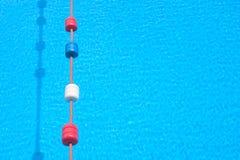 Carril de la piscina foto de archivo