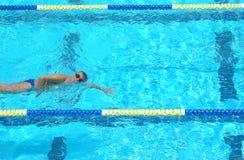 Carril de natación Imagenes de archivo