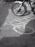 Carril del ciclo Imagenes de archivo