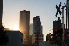 Carril del dardo de Dallas Fotos de archivo libres de regalías