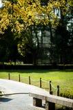 Carril del parque Foto de archivo libre de regalías