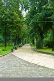 Carril del parque Imagen de archivo libre de regalías