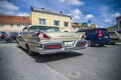 Carril 1958 del parque del mercurio de Ford Foto de archivo