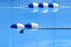 Carril floats2 de la piscina Imagenes de archivo