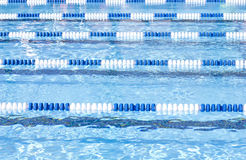 Carriles de la piscina