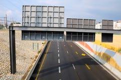 Carriles de tráfico. Imagen de archivo libre de regalías