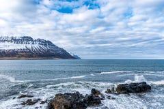 Carriles del ¡de SkÃ, Islandia Imagenes de archivo