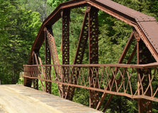 Carriles del puente Foto de archivo