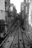 Carriles viejos del tren Fotos de archivo libres de regalías