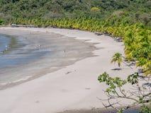 Carrillo strand i det near av samaraen Royaltyfri Foto