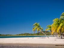 Carrillo strand i det near av samaraen Royaltyfria Bilder