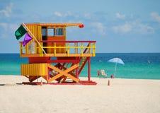 Carrinho colorido do lifeguard Imagens de Stock Royalty Free
