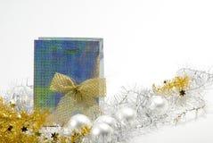 Carrinho da árvore de Natal imagem de stock royalty free