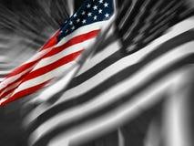 Carrinho da bandeira ilustração do vetor