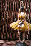 Carrinho da jóia com pérolas Imagem de Stock