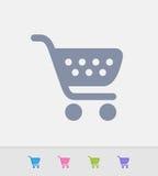 Carrinho de compras - ícones do granito ilustração royalty free