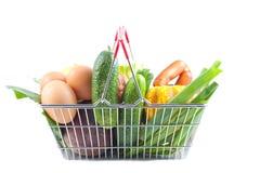 Carrinho de compras com produto perfeito Foto de Stock