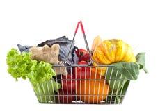 Carrinho de compras com produto perfeito Fotografia de Stock Royalty Free