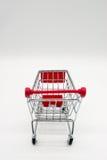 Carrinho de compras diminuto Fotografia de Stock Royalty Free