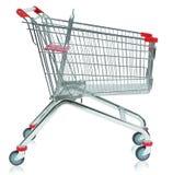 Carrinho de compras vazio Foto de Stock