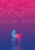 Carrinho de criança de bebê 31 Ilustração do Vetor
