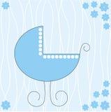 Carrinho de criança de bebê Fotos de Stock Royalty Free