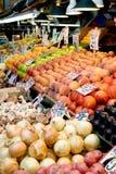 Carrinho de fruta Fotos de Stock