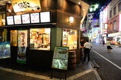 Carrinho de Gindaco Takoyaki Fotografia de Stock