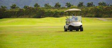 Carrinho de golfe Imagem de Stock Royalty Free