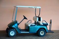 Carrinho de golfe fotografia de stock royalty free