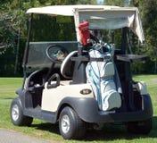 Carrinho de golfe Fotos de Stock Royalty Free