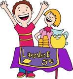 Carrinho de limonada ilustração royalty free