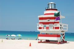 Carrinho do Lifeguard de SoBe fotos de stock royalty free