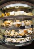 Carrinho do queijo Imagem de Stock
