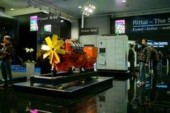 Carrinho do Rittal na expo do computador de CEBIT Fotos de Stock