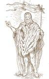 Carrinho Resurrected do Jesus Cristo Foto de Stock