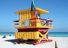 Carrinho sul do Lifeguard da praia Fotografia de Stock