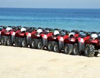 Carrinhos da praia Imagens de Stock Royalty Free