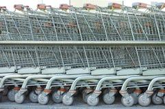 Carrinhos de compras Foto de Stock