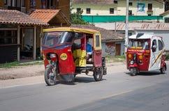 Carrito auto en Urubamba, Perú Fotografía de archivo libre de regalías