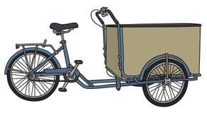 Carrito del pedal de la carga Foto de archivo