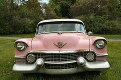 Carrito rosado Foto de archivo