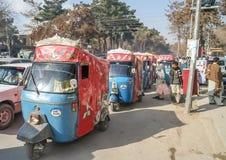 Carritos de Quetta Fotografía de archivo libre de regalías