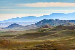 Carrizo Duidelijk Nationaal Monument stock afbeeldingen