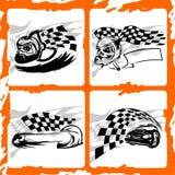 Carro. ilustração royalty free